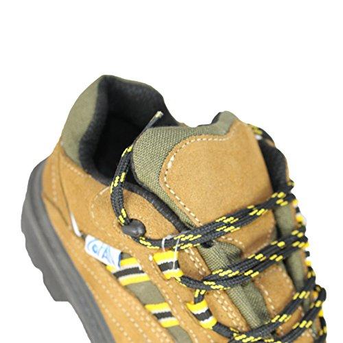 COFAN - Calzado de protección de Piel para hombre Marrón - marrón