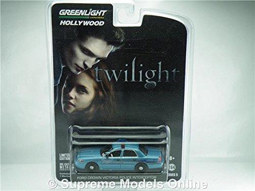 FORD CROWN VICTORIA TWILIGHT MODEL CAR 1:64 GREENLIGHT HOLLYWOOD 44650 K8967Q Supreme models