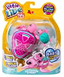 Little Live Pets Lil' Swimstar Turtle - Series 4 - Melon Drops & Baby
