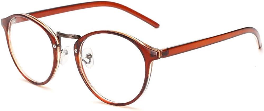 GEMSeven Ultralight Retro Round Short Sighted Glasses Finished Myopia Glasses