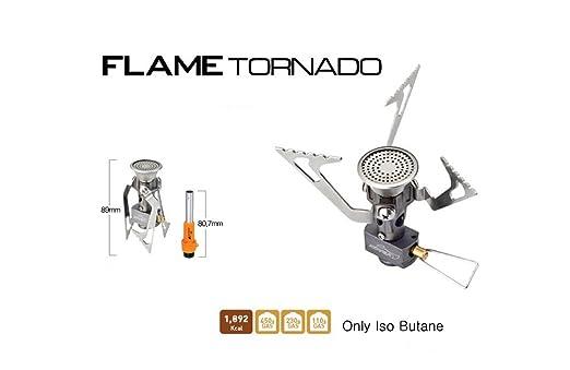 Ultraligero llama Tornado hornillo de gas para camping y ...