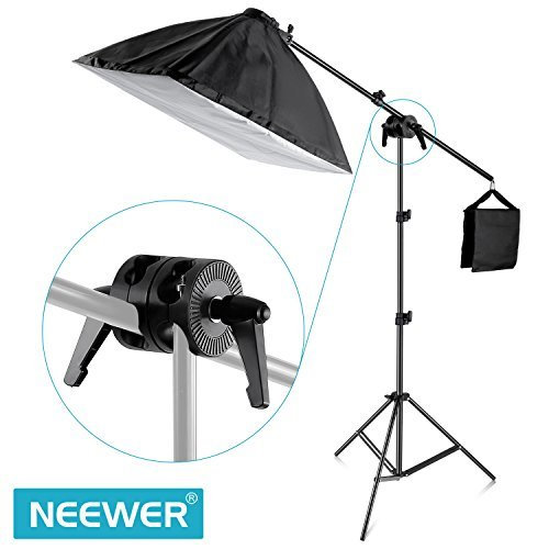 Neewer Photography Dual Swiveling Grip Head Angle Pivot Clamp Connector for Boom and Reflector Arm