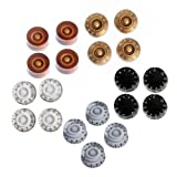 #8: Kmise Electric Guitar Speed Knobs For Gibson Les Paul Knob Parts Replacement (Control Knobs 20 Pcs)