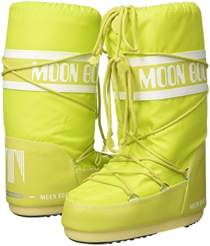 Tecnica Moon Boot Nylon, Botas de nieve Unisex adulto Verde (Lime 070)