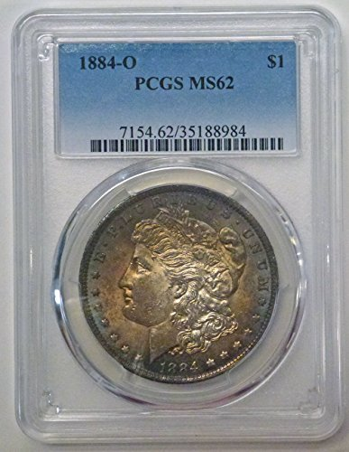 1884 O/O Morgan Dollar MS62 PCGS