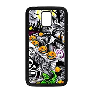 Samsung Galaxy S5 Phone Case for The Nightmare Before Christmas Classic theme pattern design GQ07TNBC18079