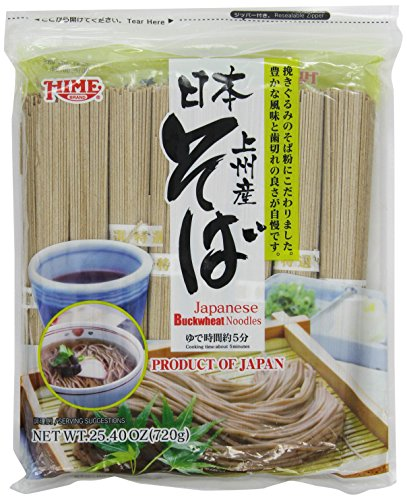 (J-Basket Dried Buckwheat Soba Noodles, 25.40 Ounce)