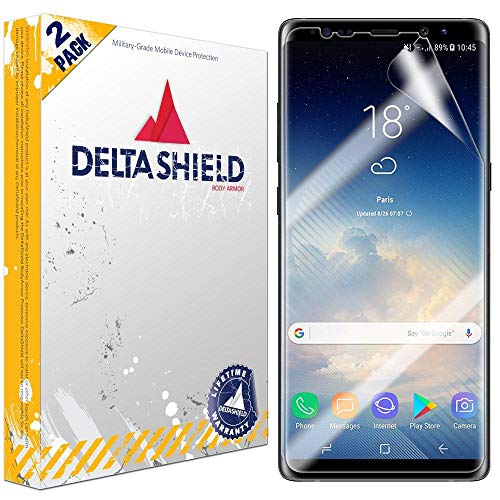 DeltaShield Protector Compatible Anti Bubble Military Grade