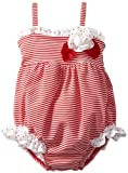 51A1G0TnwlL. SL160  Kate Mack Baby Girls Newborn Regatta Swim Bubble, Red, 0 3 Months