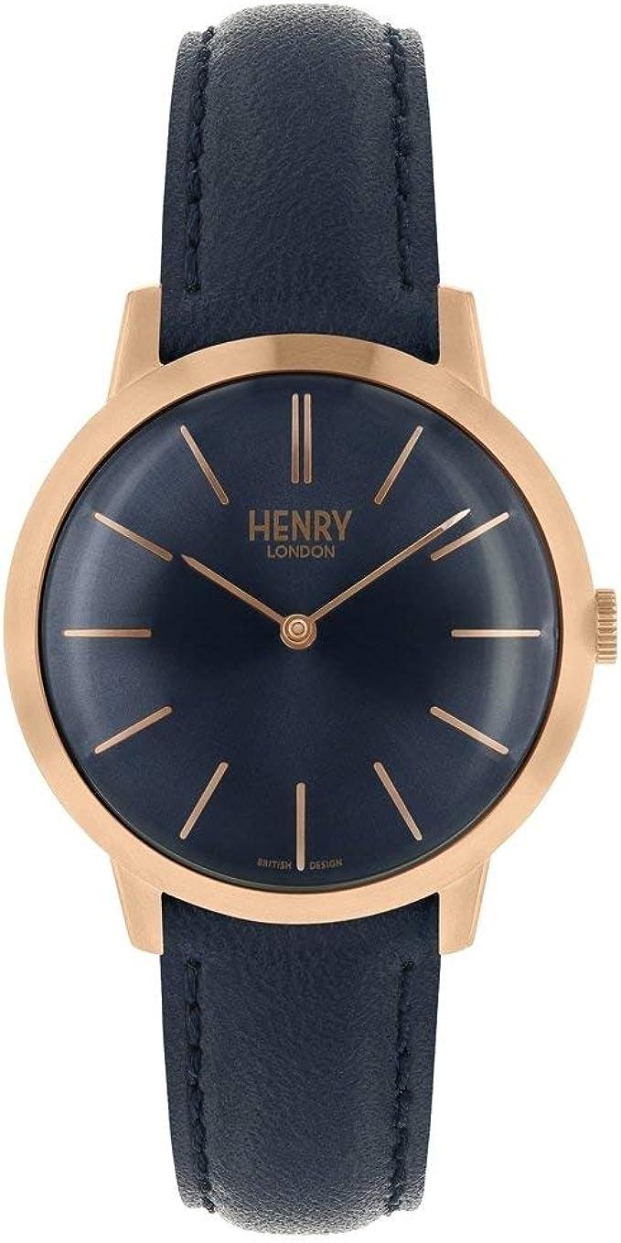 Henry London HL34-S-0216 - Reloj de pulsera analógico para mujer ...