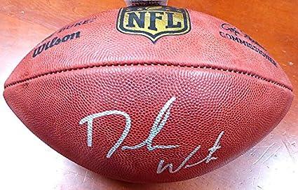 DeShaun Watson Signed Official NFL Leather Football Clemson Tigers - Beckett  Certified 8dc55ab4b