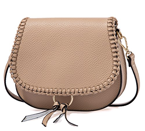 Small Shoulder Bags Braid Saddle Crossbody bags Satchel for Women Tote Bag with Tassel