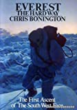 Front cover for the book Everest the Hard Way by Chris Bonington