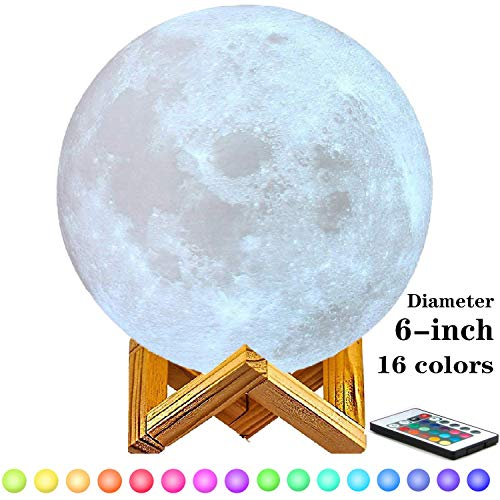 6-inch Moon Lamp Moon Light (6