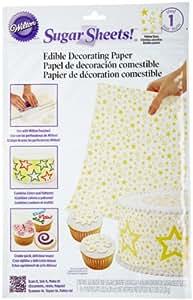 Wilton Sugar Sheet, Yellow Stars