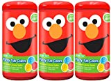 Color My Bath Sesame Street Fizzy Tub Colors (3-pack)