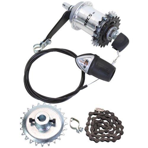 Sun 5-Speed Coaster Brake Hub Conversion Kit for Adult 3-Wheeler 3 Speed Coaster Brake