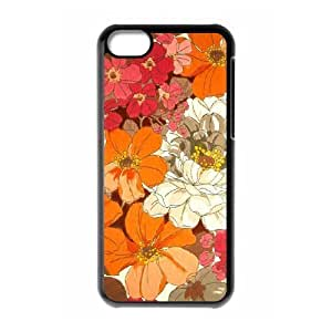 Vintage Flower ZLB544457 Brand New Phone Case for Iphone 5C, Iphone 5C Case wangjiang maoyi