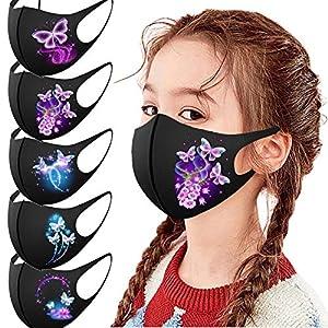 5/12 PC Enfants Bouche Activités Extérieures Protection pour garçons et Filles Masque Tissu Enfant Mignonne Protection…