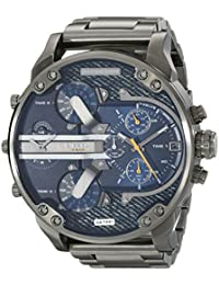 Mens DZ7331 Mr Daddy 2.0 Gunmetal-Tone Stainless Steel Watch