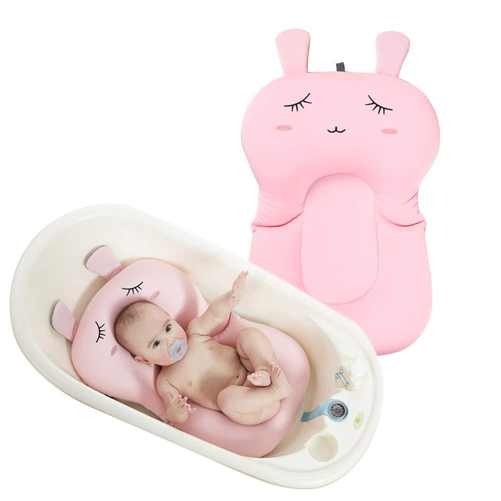 Baby Badekissen, Dsaren Weich Baby-Bad Pad Schwimmende Matratze Neugeborenes Badewanne Kissen, Schü tzen Dein Baby Sicherheit (Grü n)
