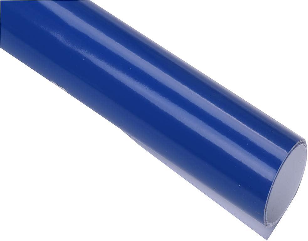 HOHOFILM Rouleaux de vinyle adh/ésif brillant 122 cm x 30 cm Feuille adh/ésive DIY Wall Sticker pour machine /à cricut 122cmx30cm red