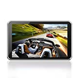 GPS Navigator, OUMAX GP70HD (V2.0) 7.0inch GPS Navigation System with Turn-By-Turn Directions, Preloaded USA, Canada, Mexico Maps and Speed Limit Alert Black/8GB Flash Memory/HD Display