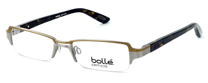 Amazon.com: Bolle Optical Cannes in Brass Eyeglass Frame ; DEMO LENS ...