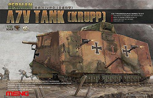Meng German Krupp A7V Tank Model Kit for sale  Delivered anywhere in USA