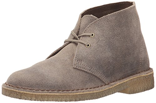 CLARKS Women's Desert Boot Chukka Boot, Taupe Distressed 9.5 M US