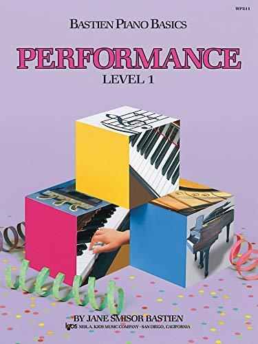 WP211 - Bastien Piano Basics - Performance Level 1 (Bastien Piano Level One Theory)