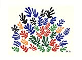"Serigraph by Henri Matisse entitled ""Spray of Leaves"". The Serigraph is 22 inches in height by 30 inches in width and the image area measures 19 inches in height by 23 inches in width. The year of this Serigraph is 2010 and it's from an edition size ..."