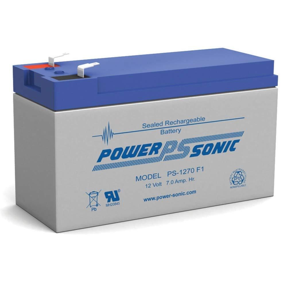 Powersonic 12V 7Ah Solex BD127 SB1270 Alarm Back Up Battery Power-Sonic