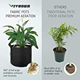 VIVOSUN 5-Pack 7 Gallon Plant Grow Bags, Premium