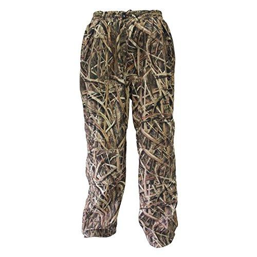 Wildfowler Men's Outfitter Waterproof Pants, Mossy Oak Shadow Grass Blades, X-Large