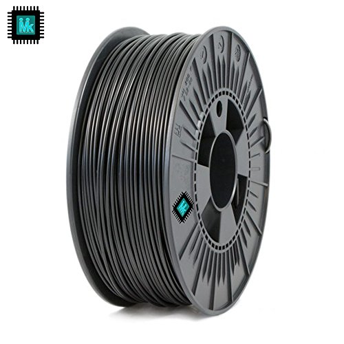 IMIK 1.75mm ABS Filament 1 KG Roll for 3D Printers (Black)