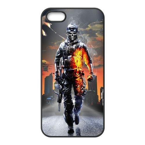 Battlefield 3 coque iPhone 4 4S cellulaire cas coque de téléphone cas téléphone cellulaire noir couvercle EEEXLKNBC23426