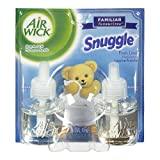 Air Wick Scented Oil Twin Refill Air Freshener: Snuggle, 40ml, 1.35-Ounce
