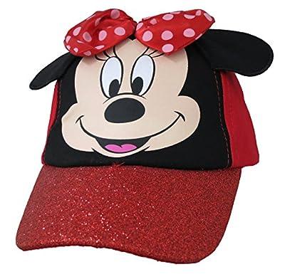 Disney Minnie Mouse Girls Red Baseball Cap [2013]