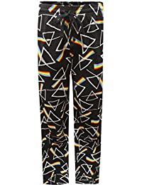 Pink Floyd Dark Side Of The Moon Pyramid Lounge Pants For Men
