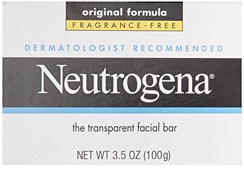 Neutrogena Transparent Facial Bar, Original Formula, Fragrance Free, 3.5 (Formula Facial Cleansing Bars)