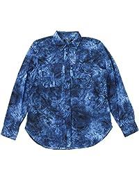 Lauren Ralph Lauren Women's Tie-Dye-Print Shirt