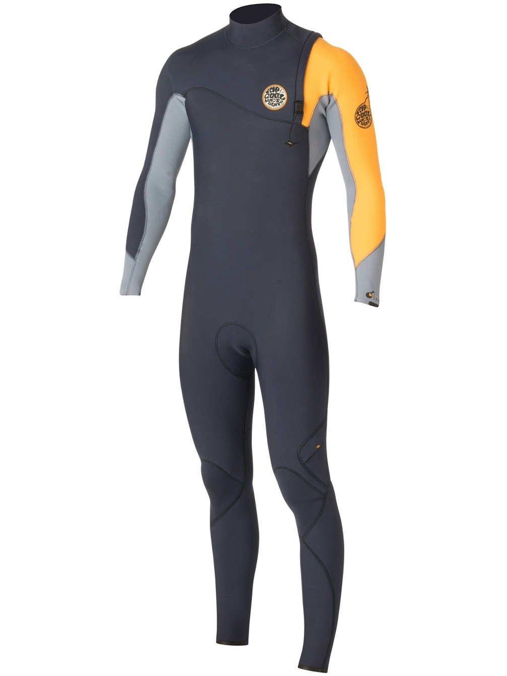 RIP CURL 2016 Flashbomb 3 2mm Zip Free Wetsuit Navy WSM5RF