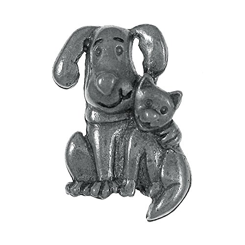Dog and Cat Lapel Pin - 1 Count