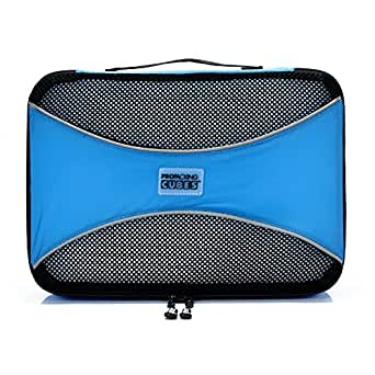 PRO Packing Cubes  Lightweight Travel - Packing for Carry-on Luggage, Suitcase and Backpacking Accessories Set, Sky Blue