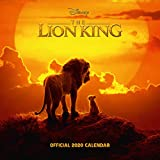 Disney Lion King 2020 Calendar - Official Square Wall Format Calendar