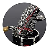 Dragon 38/41/44/47/50mm Stainless Steel p-Enis Ring Chastity Device c-ock Cage Adult Bondage Sex Toys for Men LF-108,Inner Diameter 47mm