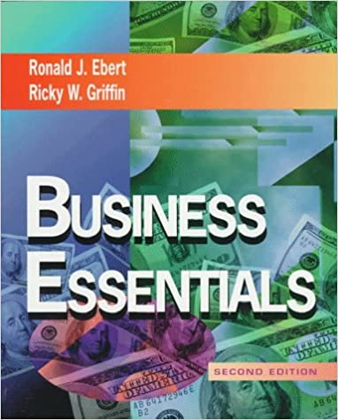 Business essentials ron ebert ricky w griffin 9780521514545 business essentials 2nd edition fandeluxe Image collections