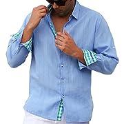 Long Sleeve Linen shirt with details.