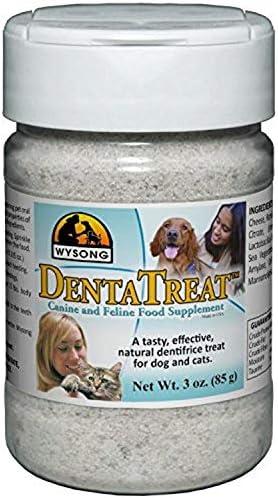 Wysong Dentatreat Canine Feline Food Supplement – 3 Oz. Bottle
